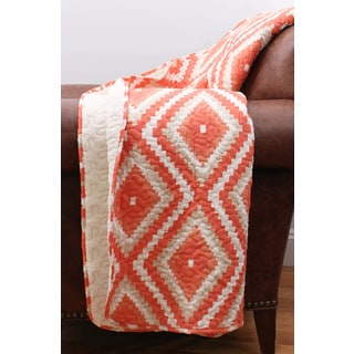 Thro by Marlo Lorenz Melina Diamond Quilted Throw