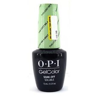 OPI Softshade Pastel 2016 This Cost Me A Mint GelColor