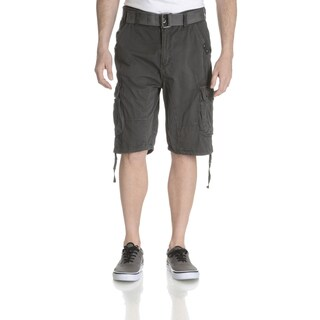 Repair Mens Belted Stitch Detail Cargo Short