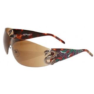 Ed Hardy EHS-005 Snake 2 Tortoise Sunglasses