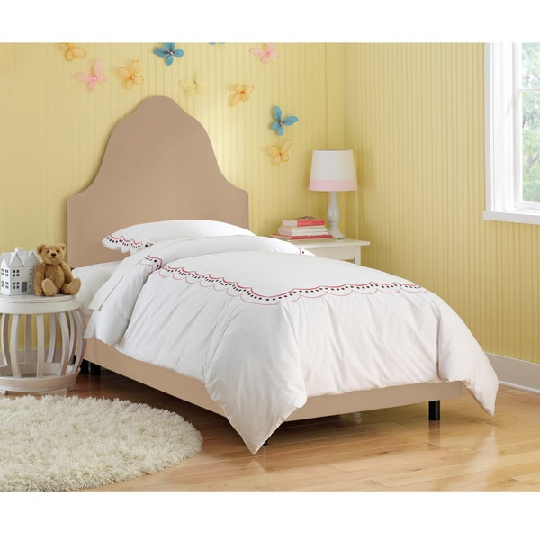 Skyline Furniture Kids Premier Oatmeal Arched Bed