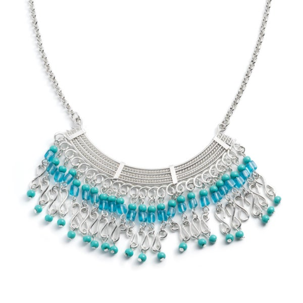Maharani Blue Moon Beaded Necklace (India)