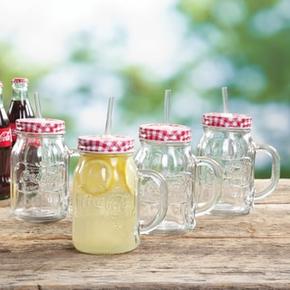 Coca Cola Mason Jars (Set of 4)