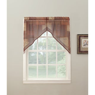 No. 918 Eden Window Valence Swag Pair