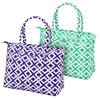 Waverly Necessities Link 19-inch Carry On City Tote Bag