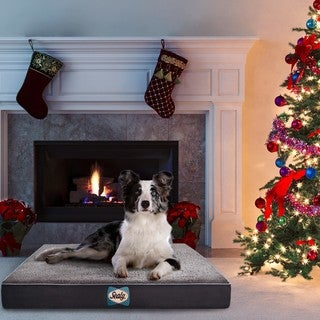 Sealy Supreme Sherpa Orthopedic Dog Bed