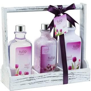 Tulip Bath and Body Gift Set