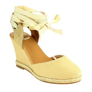 Beston Espadrille Wedge Sandals