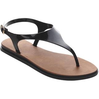 Beston Jelly T-Strap Sandals