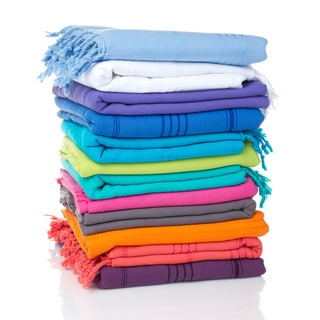 Authentic Pestemal Fouta Sol Tonal Stripe Turkish Cotton Bath/ Beach Towel