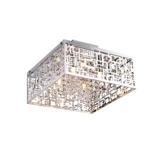 Metropolitan 4 Light Semi-Flush Pendant