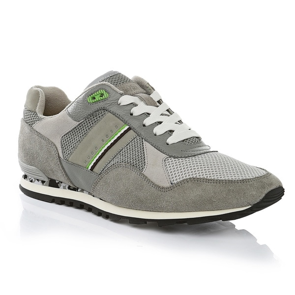 Hugo Boss Grey Runcool Sneakers