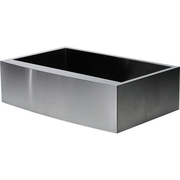 Hardy Apron Farmhouse Sink Single Bowl Stainless Steel Kitchen Sink ...
