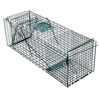 Pet Trex Green Steel Live Animal Trap