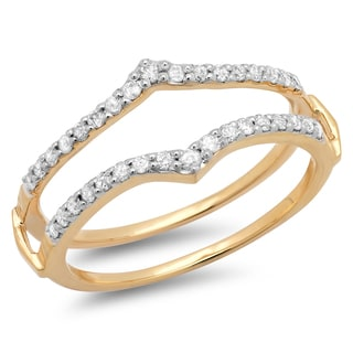 14k Yellow Gold 1/2ct TDW Round Diamond Anniversary Wedding Band (H-I, I1-I2)