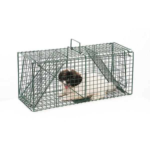 Pet Trex 26 Inch Dual Door Live Animal Trap 18138157