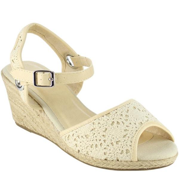 Beston Espadrilles Wedge Sandals