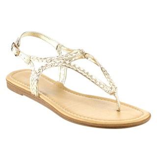 Beston Braided Strappy Thong Sandals