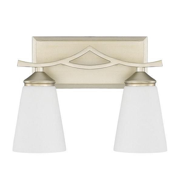 Capital Lighting Boden Collection 2-light Soft Gold Bath/Vanity Light