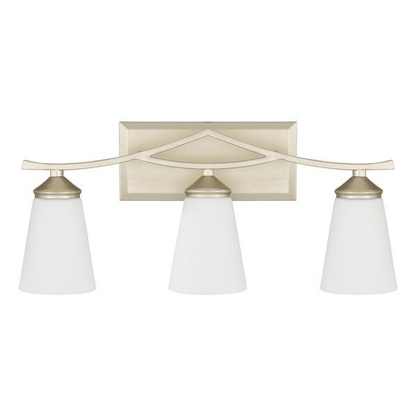 Capital Lighting Boden Collection 3-light Soft Gold Bath/Vanity Light
