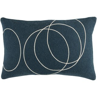 Decorative Liana Down/Polyester Filled Throw Pillow (13 x 19)