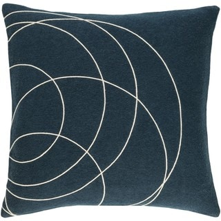Decorative Liana 18-inch Down/Polyester Filled Throw Pillow