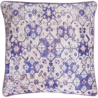 Decorative LasVegas 18-inch Down/Polyester Filled Throw Pillow