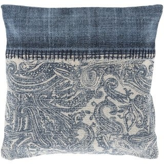 Decorative Kamora 20-inch Down/Polyester Filled Throw Pillow