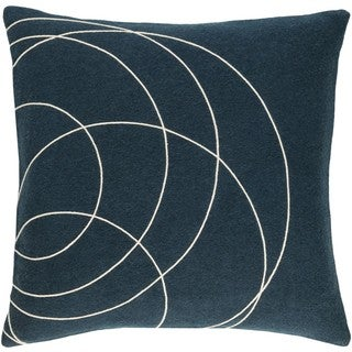 Decorative Liana 20-inch Down/Polyester Filled Throw Pillow