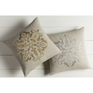 Decorative La Rochelle 20-inch Down/Polyester Filled Throw Pillow