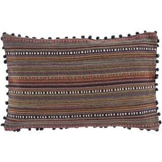 Decorative Kellan Down/Polyester Filled Throw Pillow (22 X 14)