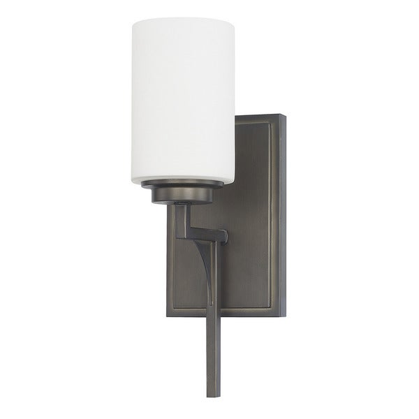 Capital Lighting Flynn Collection 1-light Gunmetal Wall Sconce