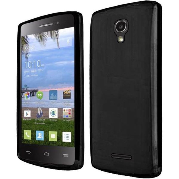 Insten TPU Rubber Candy Skin Case Cover For Alcatel One Touch PIXI Charm LTE/ Pop Astro