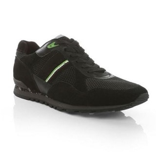 Hugo Boss Men's Runcool Camo Sneakers in Black