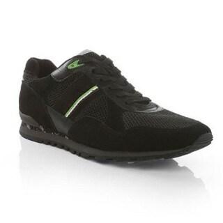 Hugo Boss Men's Runcool Camo Sneakers in Black