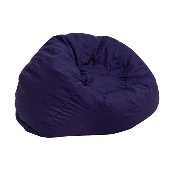Bean Bag Chair in Navy Blue