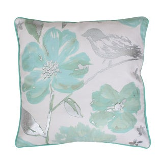Thro by Marlo Lorenz Alisha Floral Feather Filled Throw Pillow