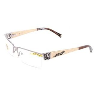 Ed Hardy EHO-721 Men's Gunmetal Designer Eyeglasses