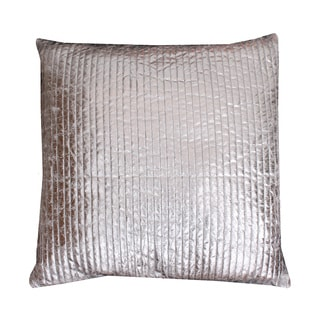 Thro by Marlo Lorenz Gary Quilted Crackle Feather Filled Square Throw Pillow