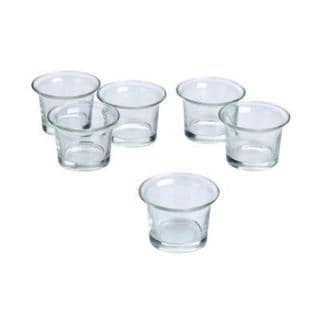 Clear Glass Lip Votive Candle Holders (Set of 72) 18147669