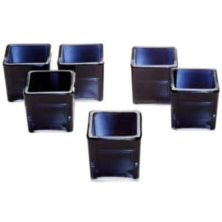 Black Glass Square Votive Candle Holders (Set of 72) 18147693
