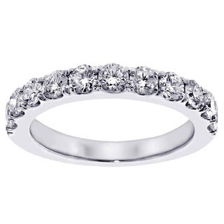 Platinum 1ct TDW Diamond Wedding Band (G-H, SI1-SI2)