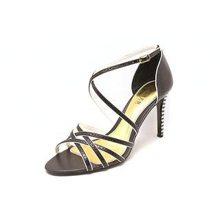 Lauren Ralph Lauren Women's 'Sasha' Black Leather Sandals