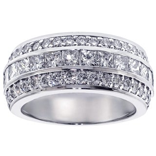 Platinum 2 2/5ct TDW Diamond Anniversary Band (G-H, SI1-SI2)