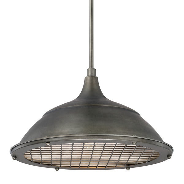 Capital Lighting Transitional 1-light Gunmetal Pendant