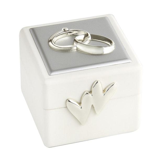 Elegance Wedding Ring Box with Wedding Ring Icon