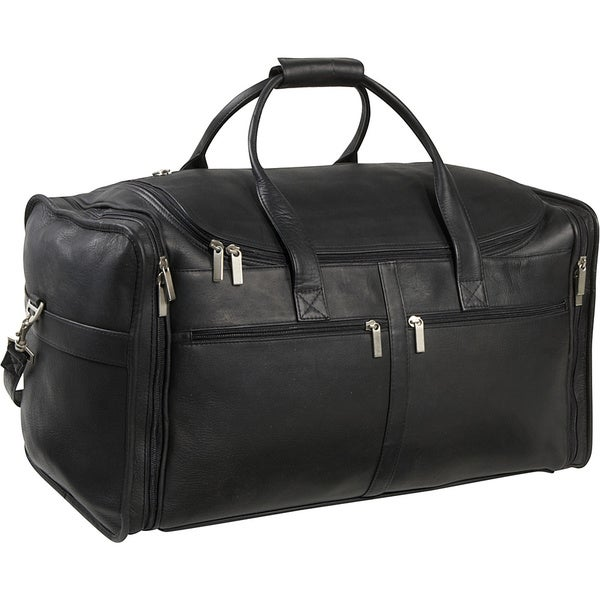 LeDonne Leather Classic Cabin 22-inch Carry On Duffel Bag