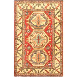 Ecarpetgallery Hand-knotted Finest Gazni Multicolor Wool Rug (7'1 x 11'1)