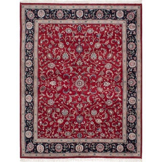 Ecarpetgallery Hand-knotted Royal Mahal Red Wool Rug (8' x 10'2)