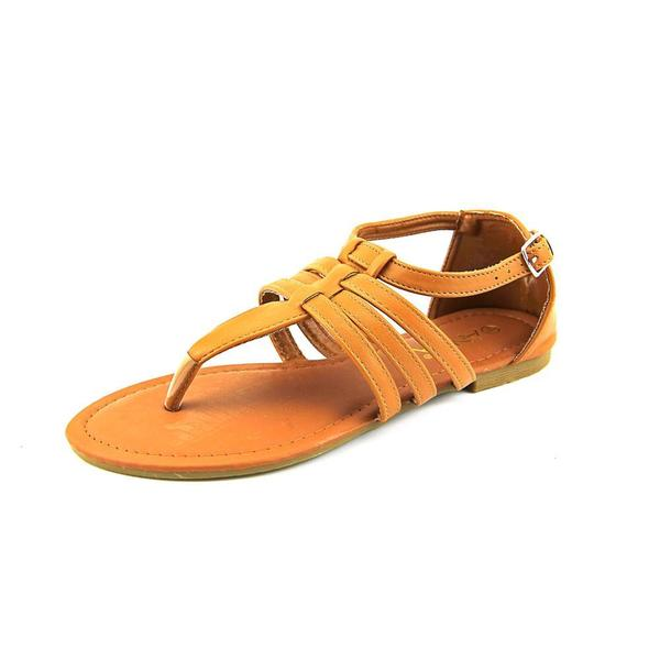 Anna Women's 'Abby-1' Tan Synthetic Sandals
